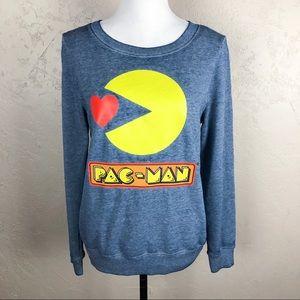 Fifth Sun Pac-Man Sweatshirt Blue